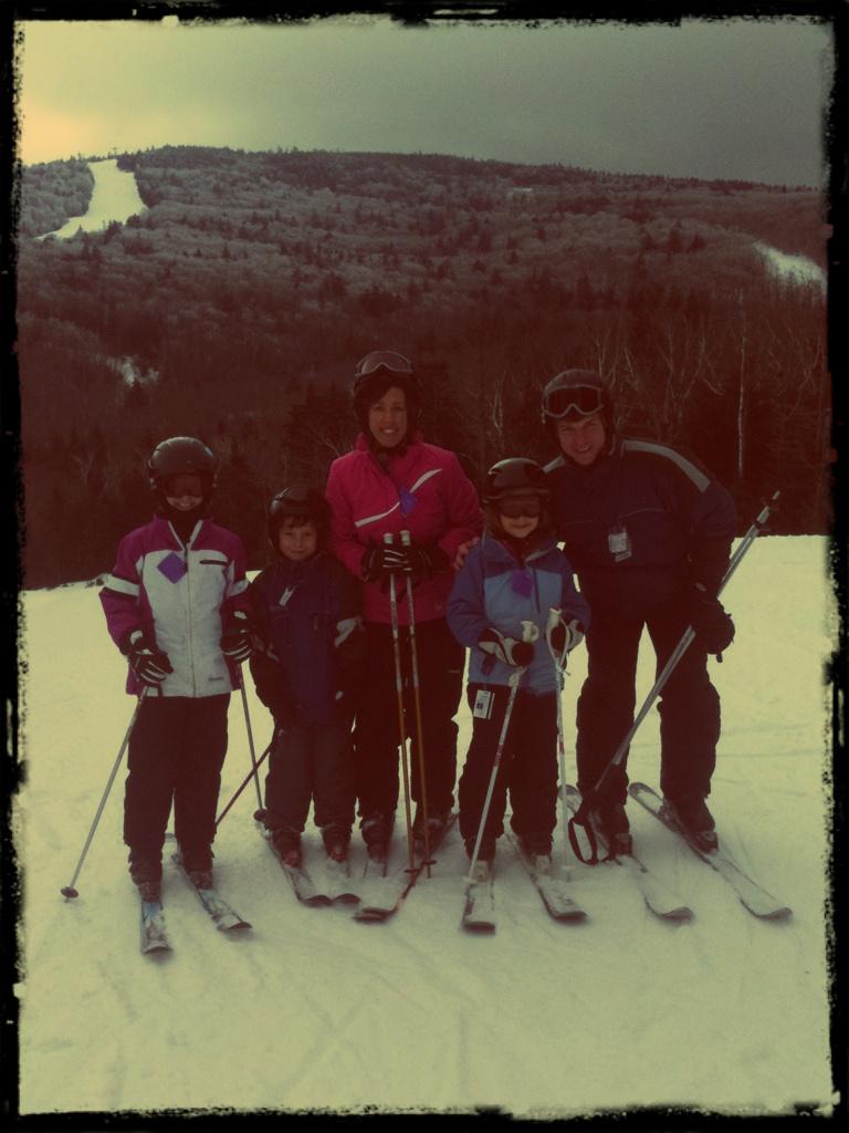 Ski vermont vintage